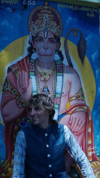 david-in-front-of-hanumanweb